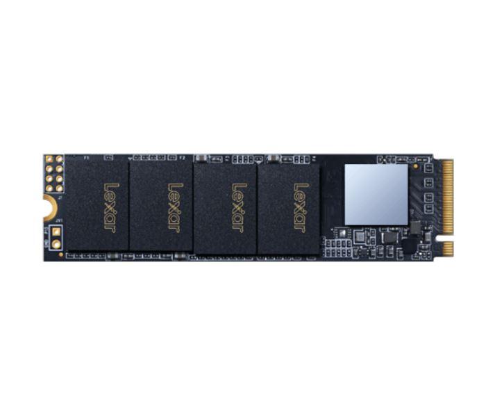 Lexar NM600 480GB M.2 (2280) NVMe PCIE SSD - 2100MB Read/1600MB Write / Shock/Vibration Resistant DASH Software/ 3 YR WTY(LS)