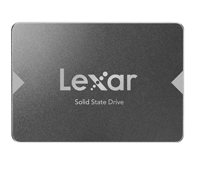 Lexar NS100 1TB  2.5' SATA SSD - 550/450MB/s Read Shock/Vibration Resistant DASH Software 3yr Warr. (LS)