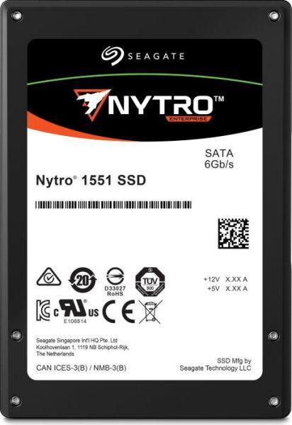 Seagate 480GB 2.5' 3DWPD, NYTRO 1551, 560R/535W-MB/s SATA SSD, 5 Years Warranty
