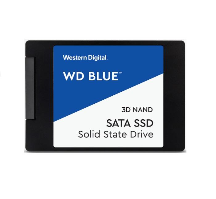 Western Digital WD Blue 1TB 2.5' SATA SSD 560R/530W MB/s 95K/84K IOPS 400TBW 1.75M hrs MTBF 3D NAND 7mm 5yrs Wty