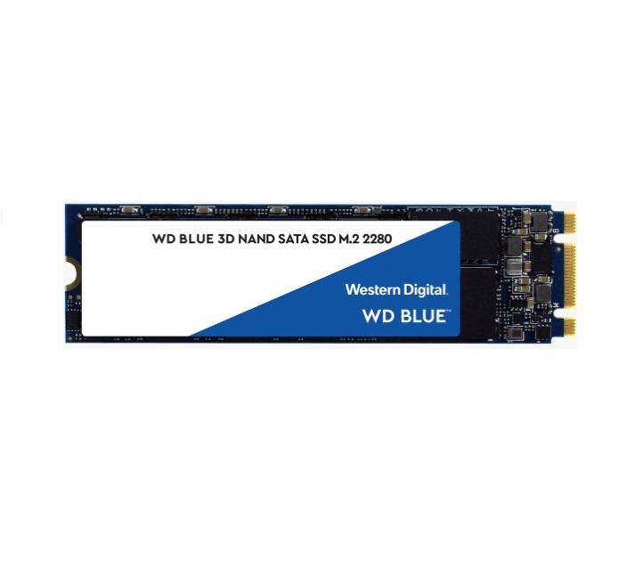 Western Digital WD Blue 2TB M.2 SATA SSD 560R/530W MB/s 95K/84K IOPS 500TBW 1.75M hrs MTTF 3D NAND 7mm 5yrs Wty