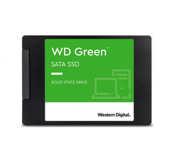 Western Digital WD Green 480GB 2.5' SATA SSD 545R/430W MB/s 80TBW 3D NAND 7mm 3 Years Warranty