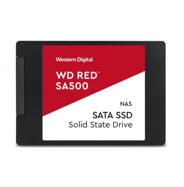 Western Digital WD Red SA500 4TB M.2 SATA NAS SSD 24/7 560MB/s 530MB/s R/W 95K/82K IOPS 2500TBW 2M hrs MTBF 5yrs wty