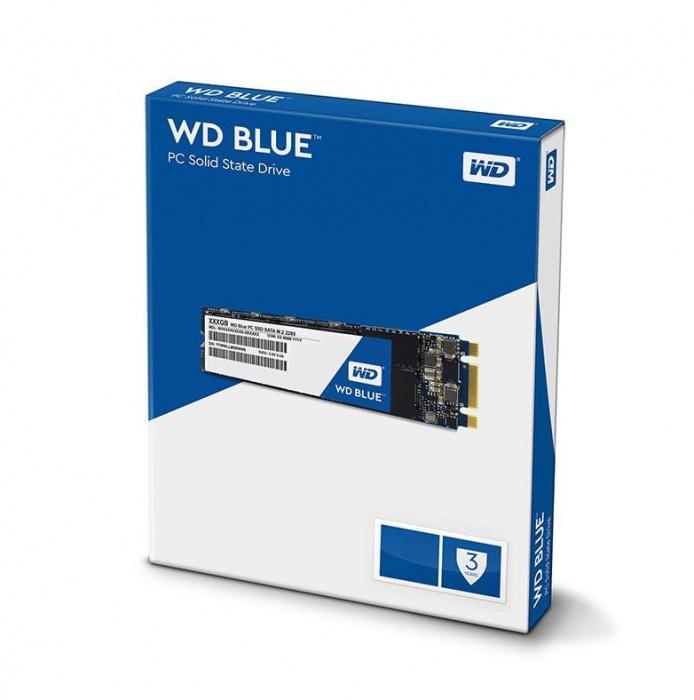 Western Digital Blue 2TB 3D NAND M.2 2280 SSD 560/530 R/W. 3 Years Warranty