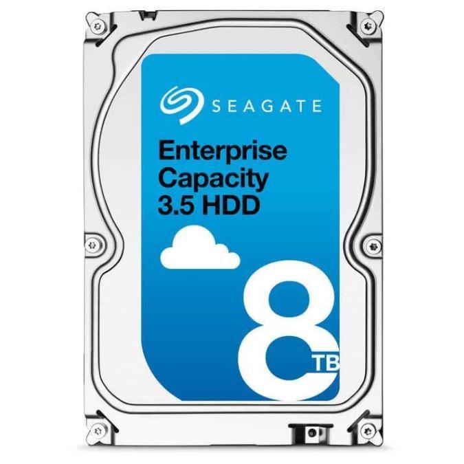 Seagate 8TB 3.5' SATA Enterprise 512n 7.2K, 128MB Cache, 5 Years Warranty (LS)
