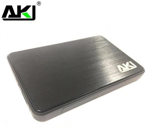 AKY 2.5' USB 3.0 SATA Screwless  external HDD Enclosure Black Use HXSI-SE211-BLK