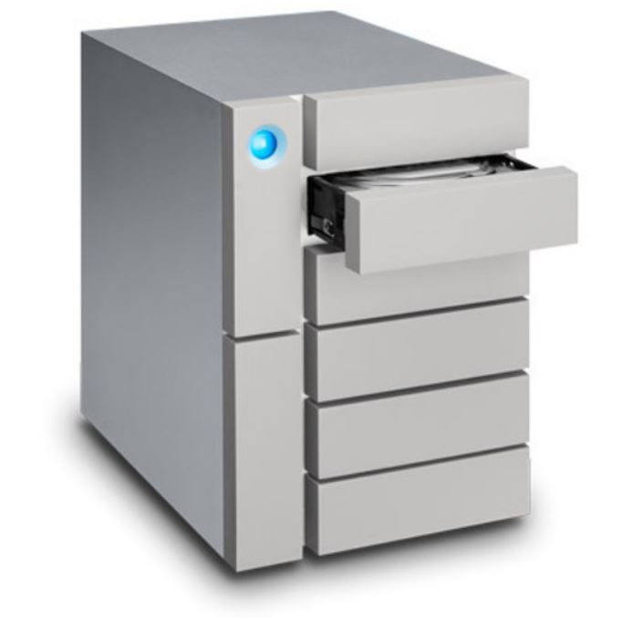 LaCie 6big Thunderbolt 3 STFK60000400 - Hard drive array - 60 TB - 6 bays (SATA) - HDD 10 TB x 6 - USB 3.1, Thunderbolt 3 (external)