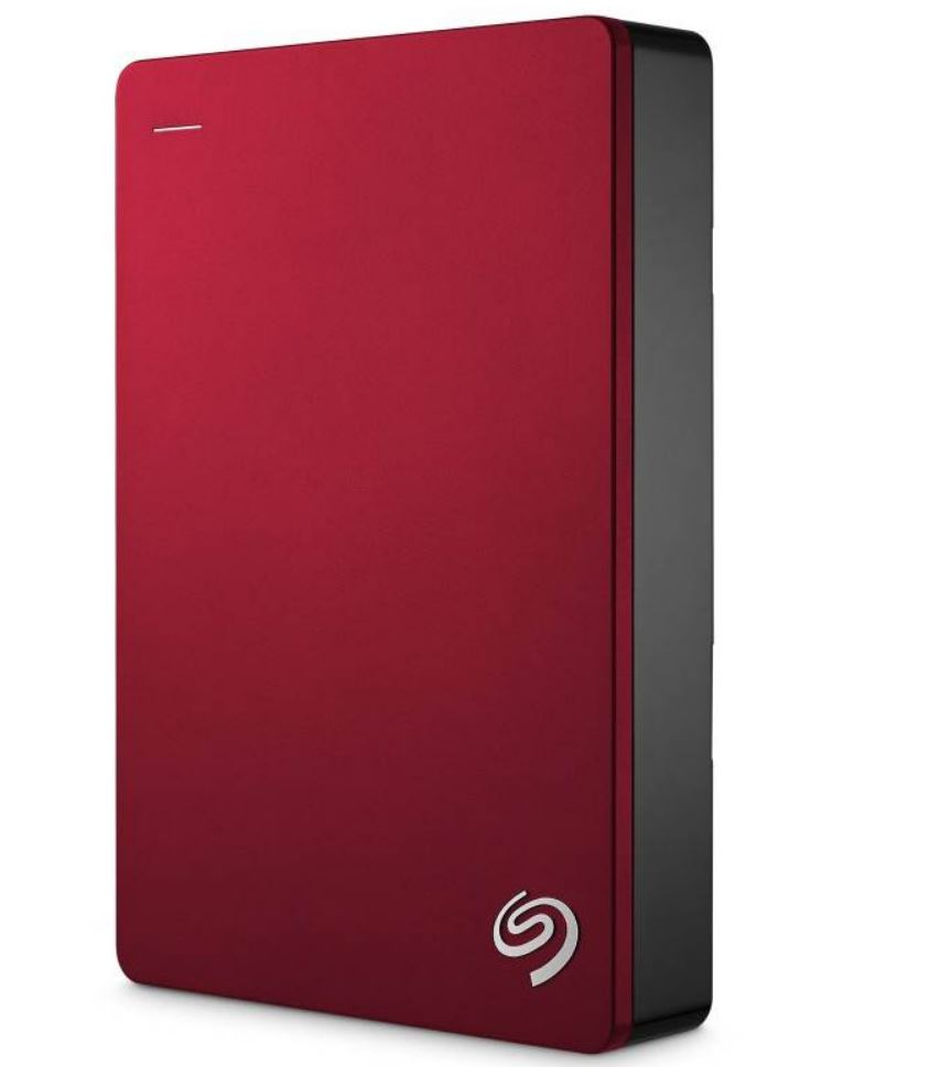 Seagate Backup Plus 5TB 2.5' Red USB3.0 Backup Plus Portable - 2 Years Warranty
