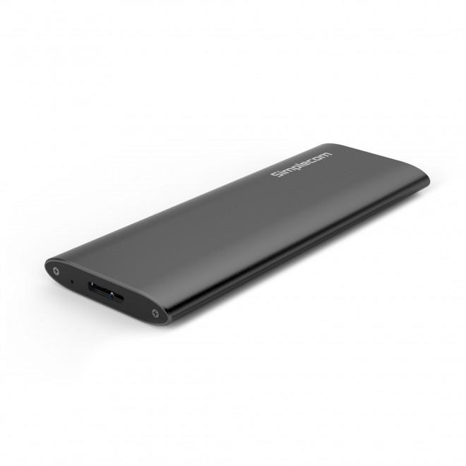 Simplecom SE502 M.2 SSD (B Key SATA) to USB 3.0 External Enclosure
