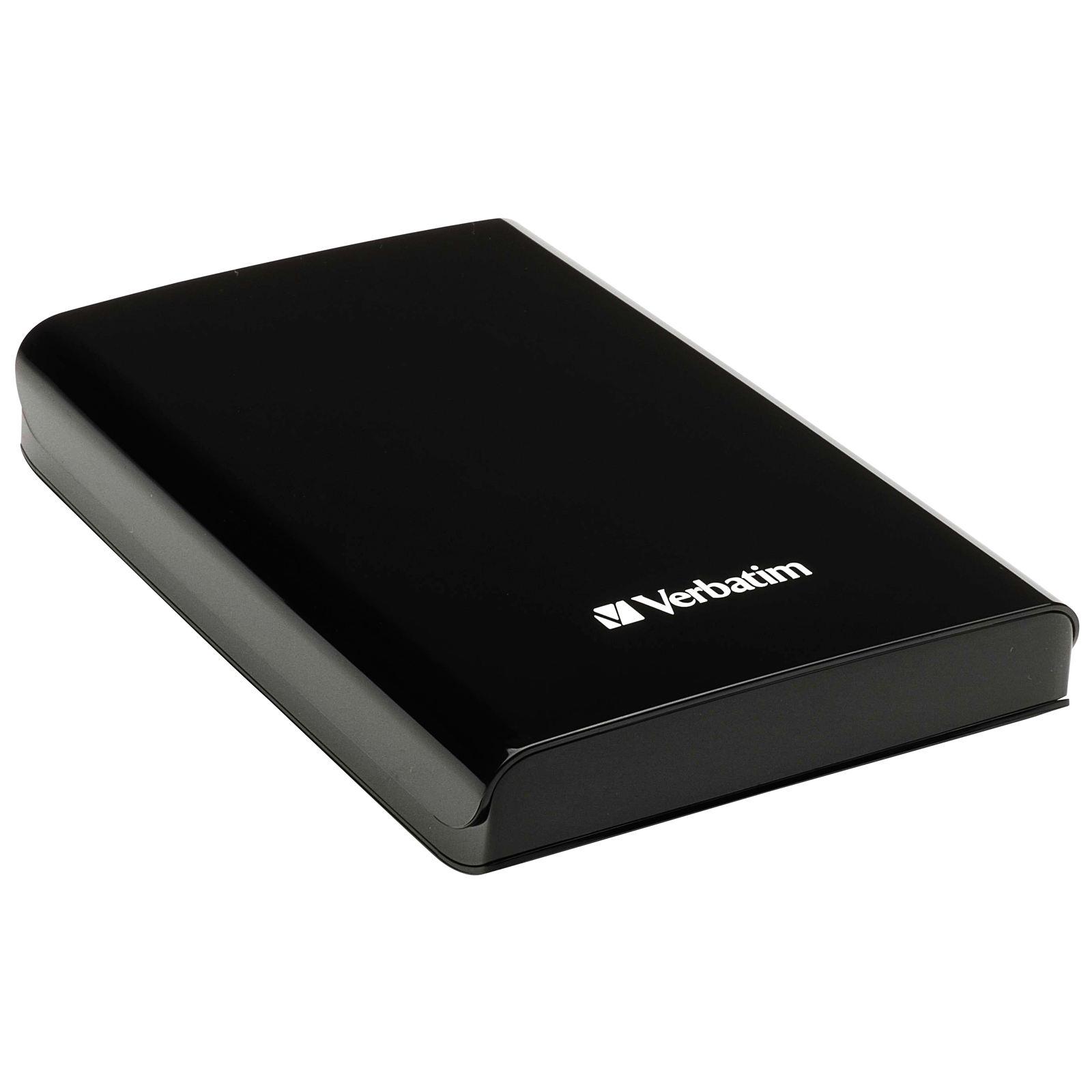 Verbatim 500GB 2.5' USB3.0 Black Retail, Backup Software, 2 Years Warranty (LS)