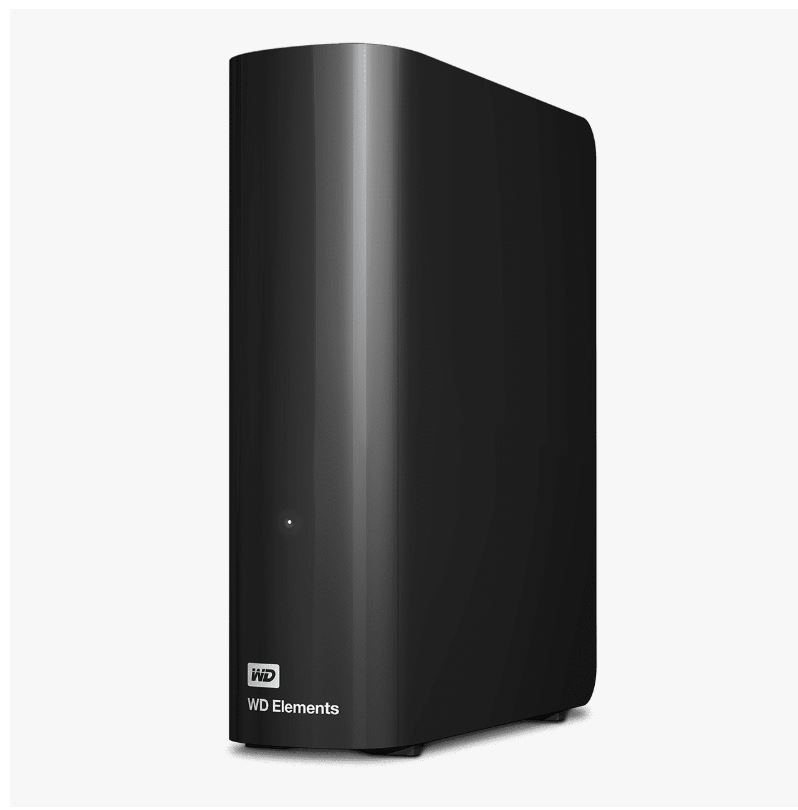 Western Digital WD Elements Desktop 8TB USB 3.0 3.5' External Hard Drive - Black Plug  Play Formatted NTFS for Windows 10/8.1/7