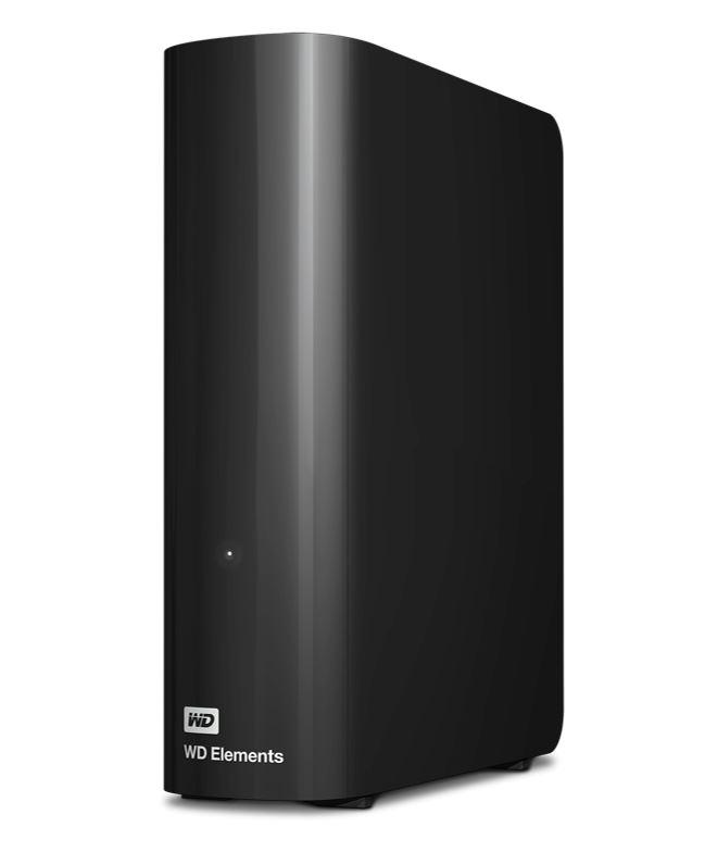 Western Digital WD Elements Desktop 4TB USB 3.0 3.5' External Hard Drive - Black Plug  Play Formatted NTFS for Windows 10/8.1/7
