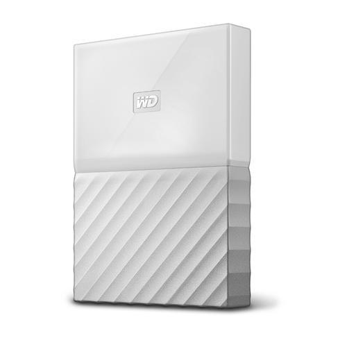 WD External 2TB USB3 2.5' Hard Drive (HDD) - My Passport (White)