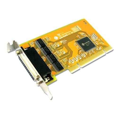 Sunix SER5056AL PCI 4-Port Serial RS-232 Card - 4-port RS-232 Universal PCI Low Profile Serial Board