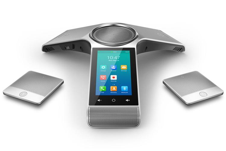 Yealink CP960WM Optima HD IP Conference Phone, Optima HD Voice, Full Duplex, W/O PSU - Set of 2 Mics - With Teams