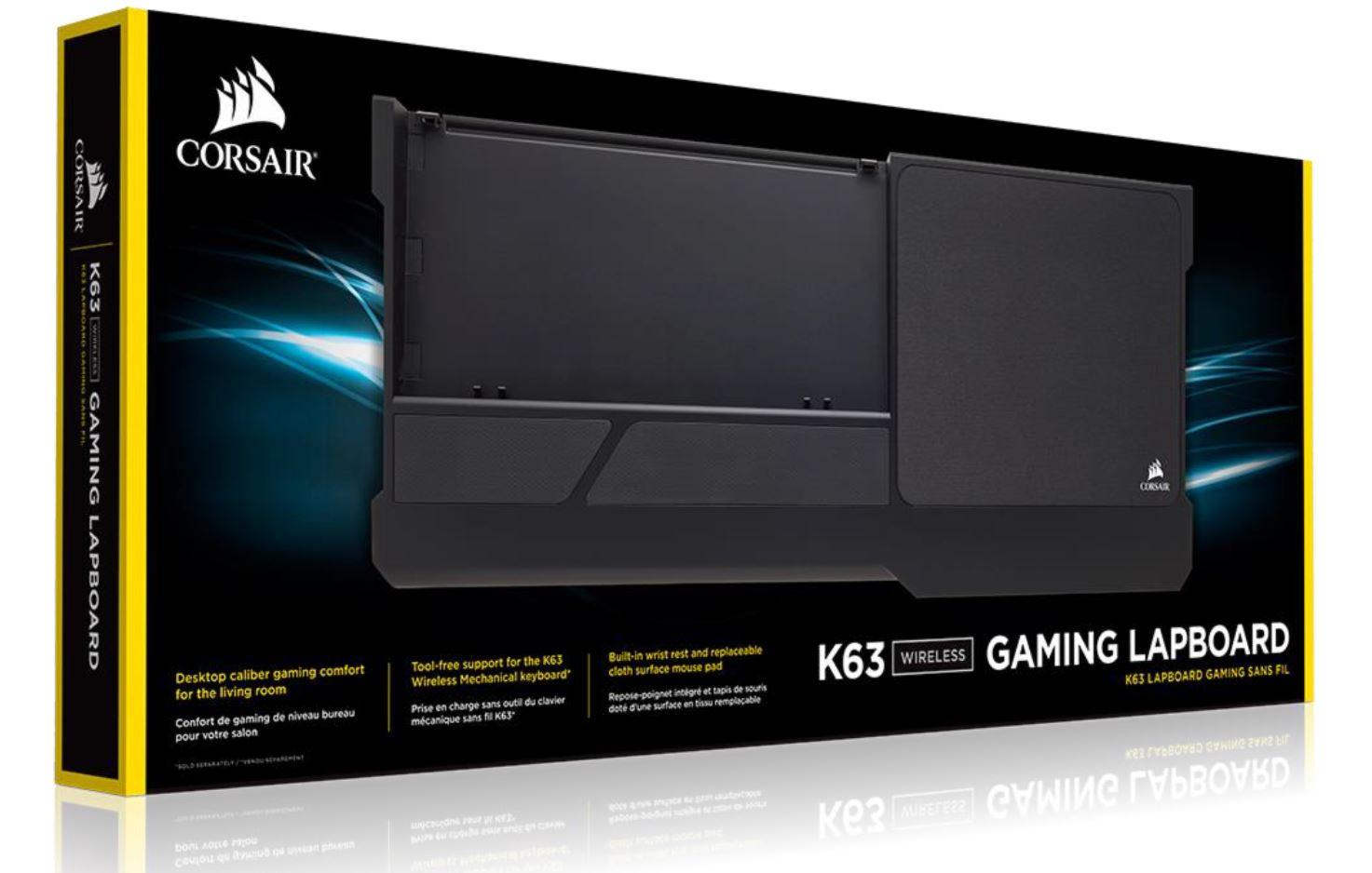 Corsair Gaming™ K63 Wireless Gaming Lapboard