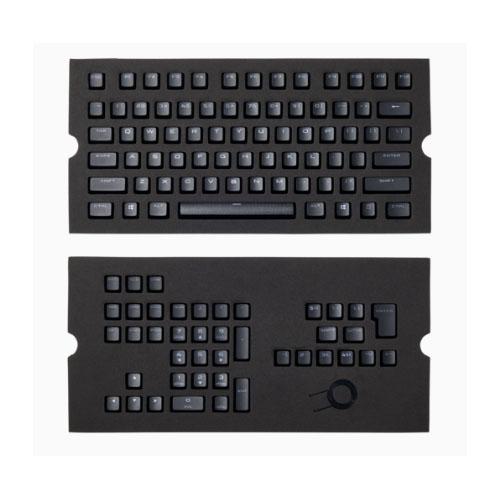 Corsair Gaming PBT Double-shot Keycaps Full 104/105-Keyset - Black
