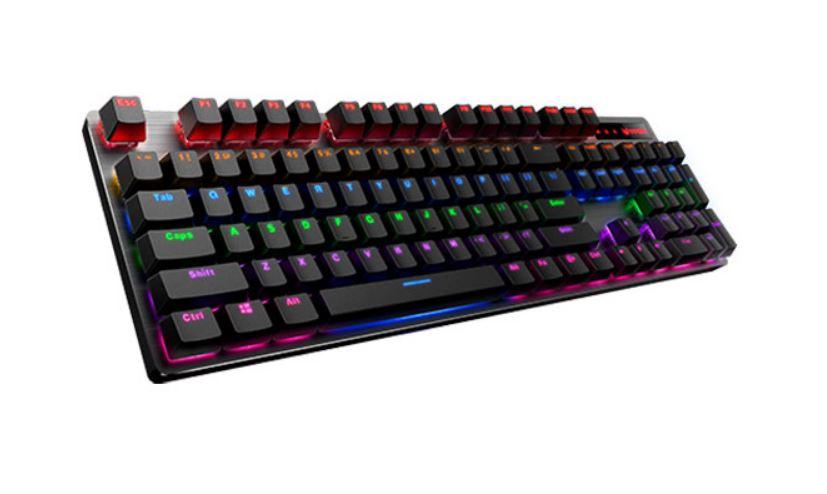 RAPOO V500 Pro Backlit Mechanical Gaming Keyboard - Spill Resistant, Metal Cover, Ideal for Entry Level Gamers
