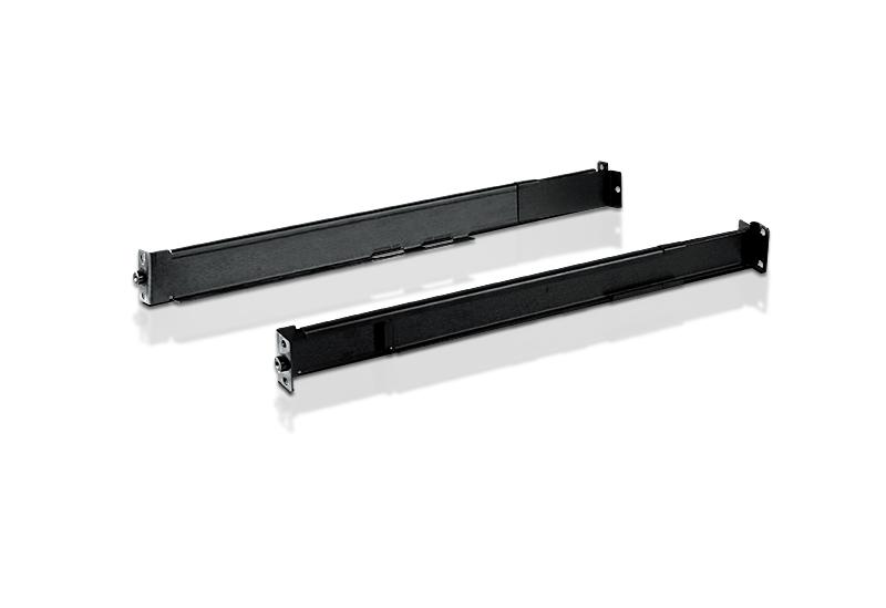Aten Short bracket Easy-Installation rack mount kit for 57-70cm racks, supports CL1000M, CL57xxM/N, CL58xxN, CL67xxMW, KL11xx, KL15xxM/N