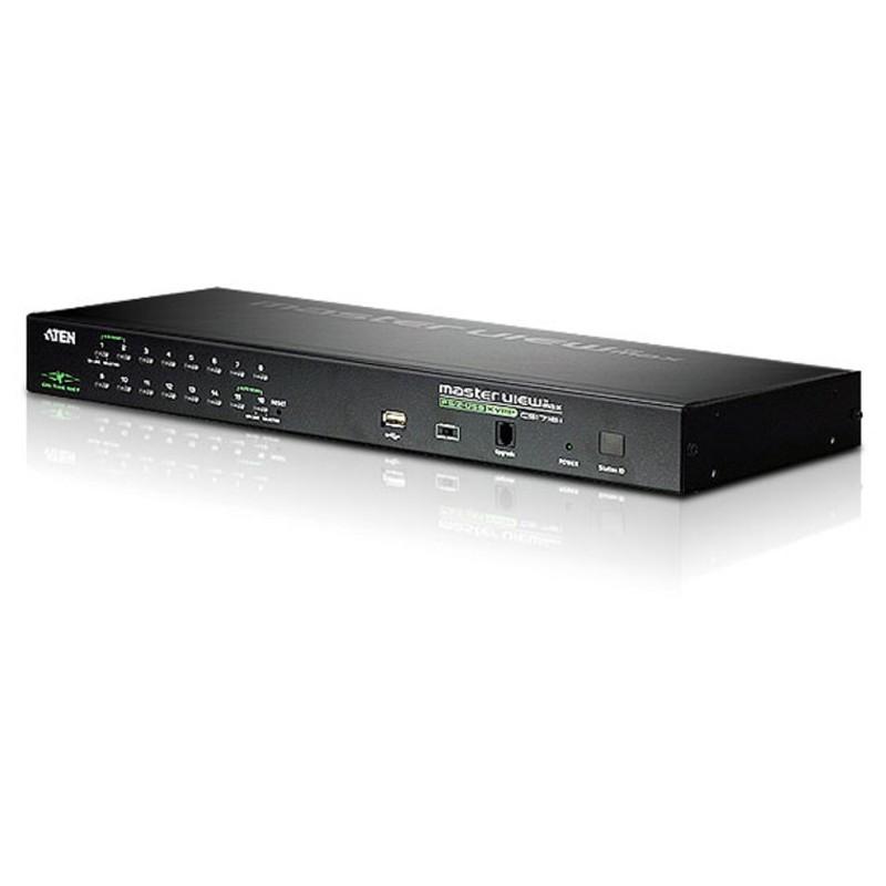 Aten 16 Port PS/2 USB KVM 1 Local/Remote User Access
