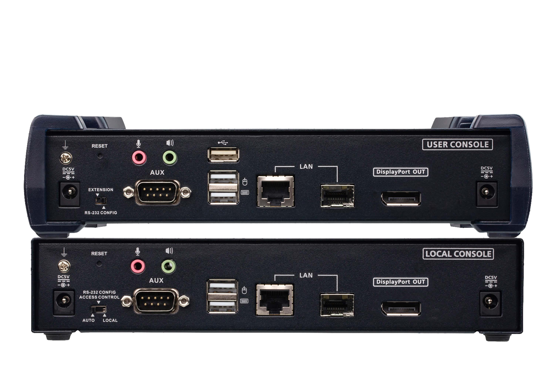 Aten 4K DP Single Display KVM over IP Extender