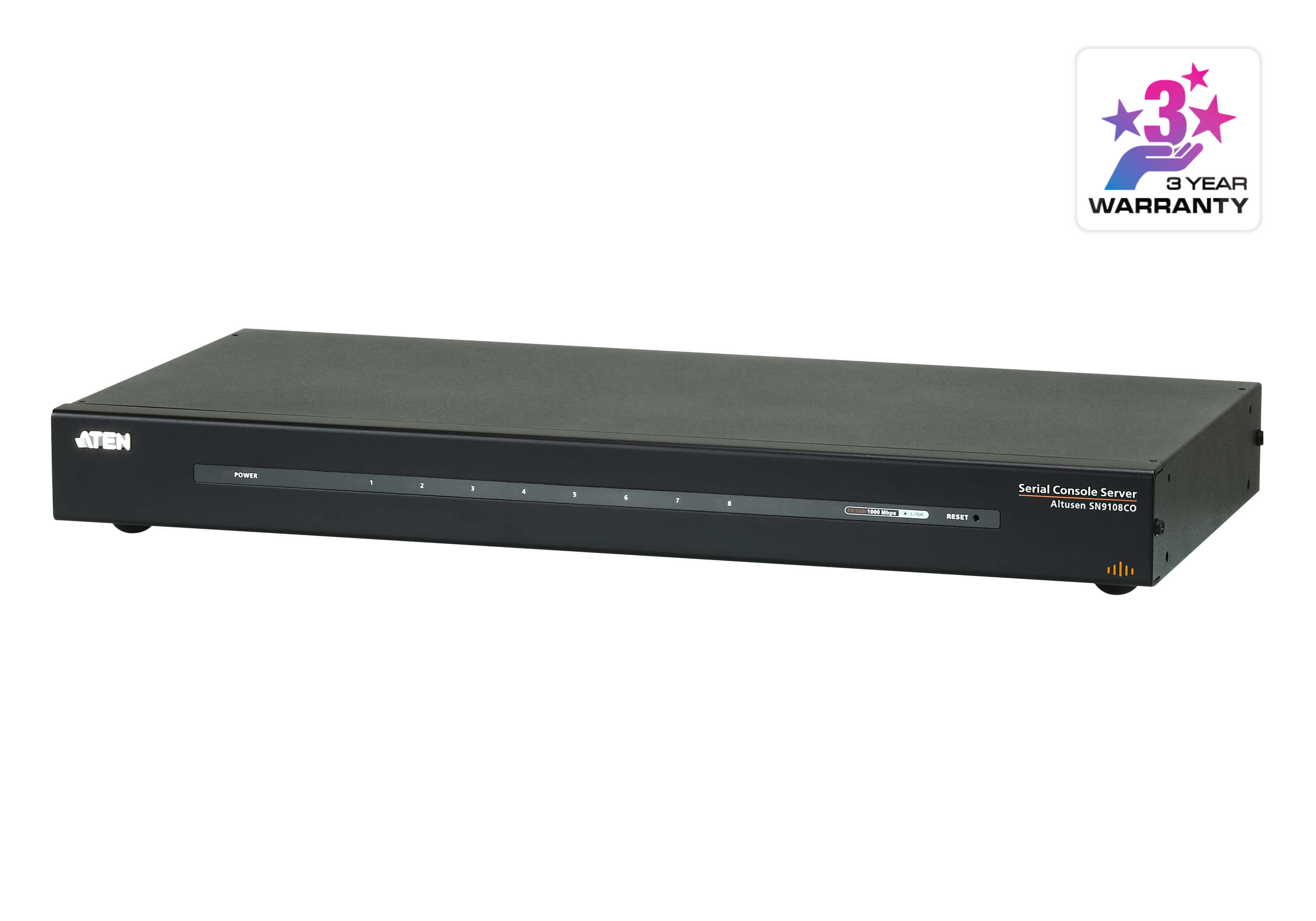 Aten 8 Port Serial Console Server over IP with AC Power, directly connect to Cisco switches without rollover cables