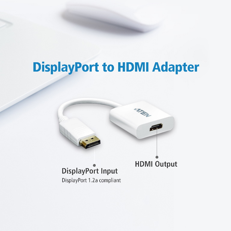 Aten VanCryst DisplayPort (M) to VGA (F) Adapter