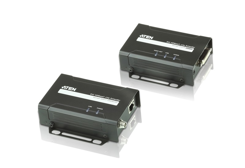 Aten VanCryst DVI-D HDBaseT-Lite Extender - Up to 4K@35m or 70m (CAT 6A) Max