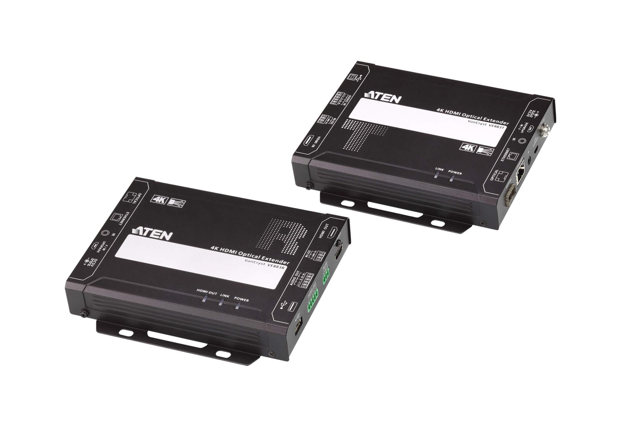 Aten VE883K1 HDMI Optical Extender 4K@300m (K1, MM) (PROJECT)