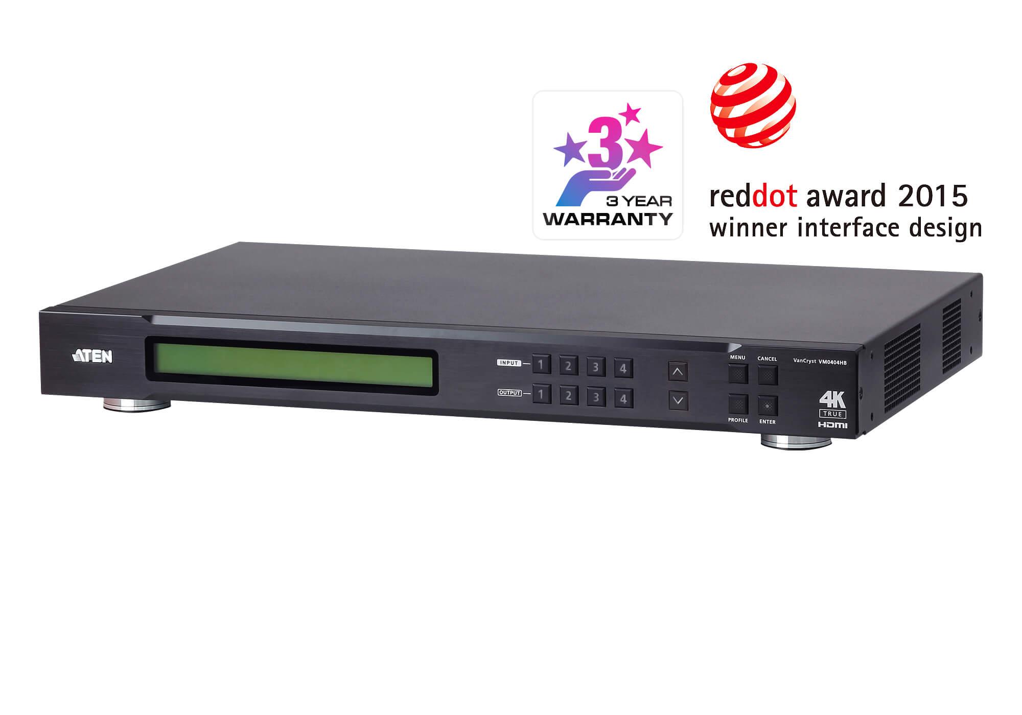 Aten 4x4 True 4K HDMI Matrix Switch (PROJECT)