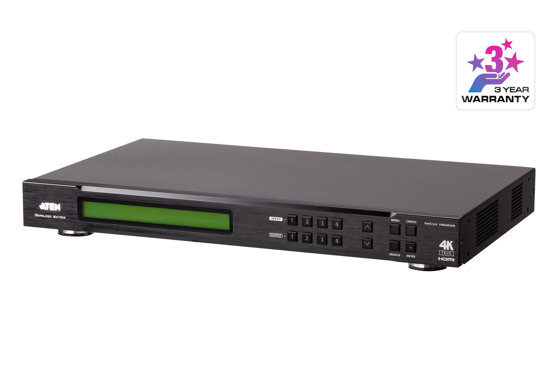 Aten4 x 4 True 4K HDMI Matrix Switch with Scaler