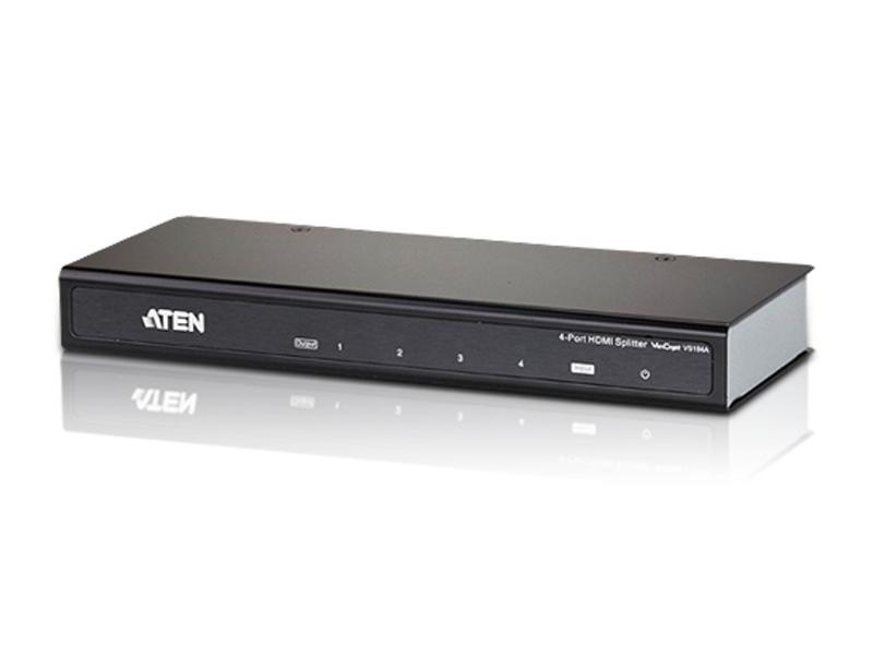 Aten VanCryst 4 Port HDMI Video Splitter - 4kx2k (Ultra HD), 1080p or 15m Max