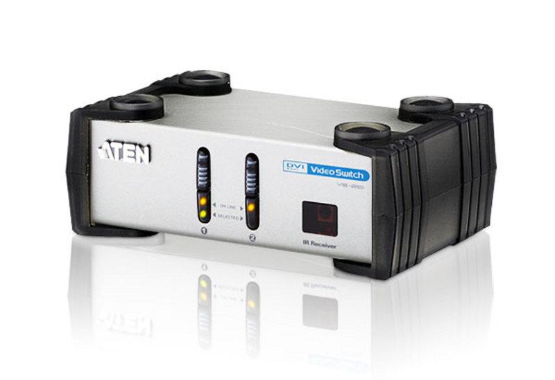 Aten 2 Port DVI Video Switch with RCA