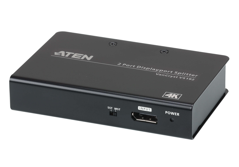 Aten 2 Port 4K DisplayPort Splitter