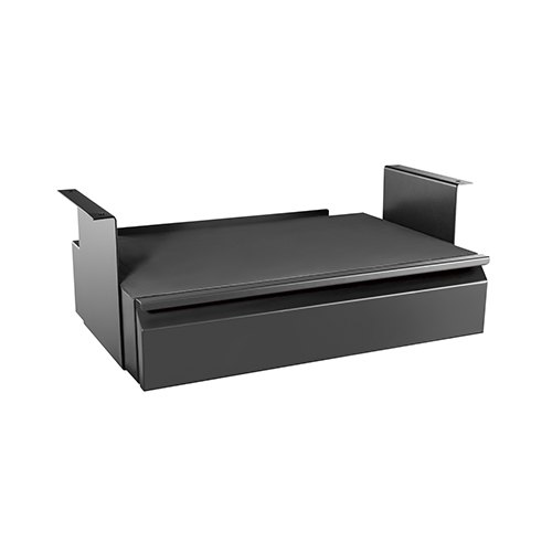 Brateck Space-Saving Under-Desk Drawer with Shelf, Dimension 513x311~481x187mm
