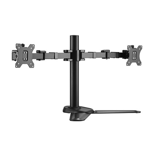 Brateck Dual Monitors Affordable Steel Articulating Monitor Stand Fit Most 17'-32' Monitors Up to 9kg per screen