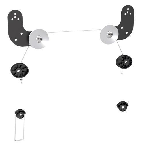 Brateck Ultra Slim Wall Mount for LED  Thin LCD Screen Size 23' – 60'(LS)