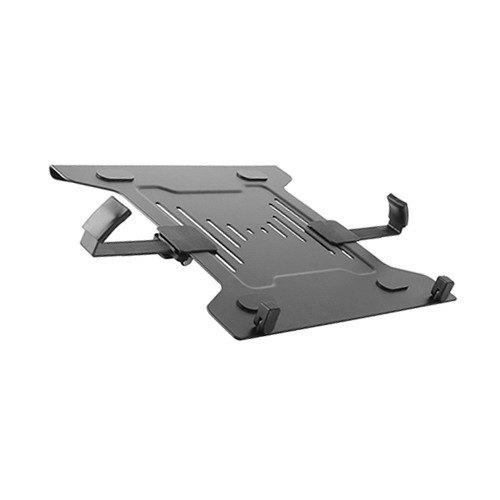 Brateck Steel Laptop Holder Fits10'-15.6' for most desk mounts with standard 75x75/100x100 VESA plate