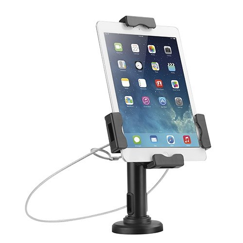 Brateck 2-in-1 Multi-Purpose Anti-Theft Tablet Countertop Kiosk(Desk Stand/Wall Mount) for Most 7.9'-10.5' Tablet