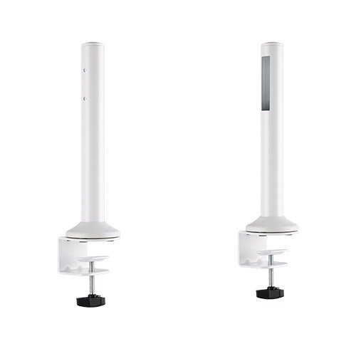 Brateck Slatwall Desk Mounting Pole, Work with Slatwall Panel for Creating Desk-Mounted Slat Wall System