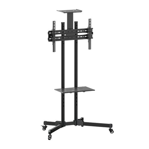 Brateck Portable TV Cart with top and centre shelf for 37'-70' LCD Screen