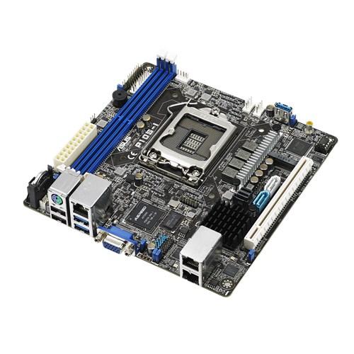 ASUS P10S-I MB, Socket 1151, Intel C232, 4x DDR4, 1x PCIE3.0 x16, 4x PCI, 6x SATA3, 4x USB3.0, VGA, ATX, Dual GbE
