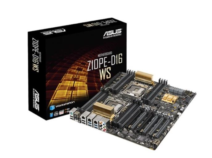 Asus Z10PE-D16 WS EEB FormFactor MB 16xDDR4 6xPCIe, 1xM.2 10xSATA, RAID, 4xUSB3.0, 4xUSB2.0, 2xLAN ports