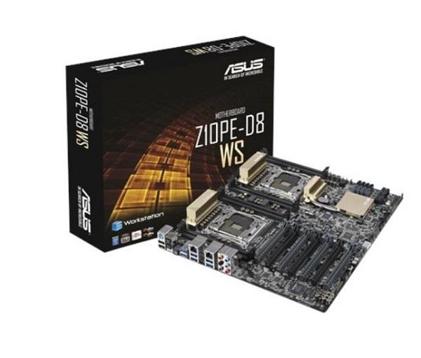 Asus Z10PE-D8 WS EEB FormFactor MB 8xDDR4 7xPCIe, 1xM.2 8xSATA, RAID, 6xUSB3.0, 2xUSB2.0, 2xLAN ports