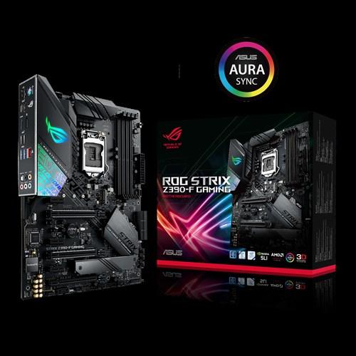 ASUS ROG STRIX Z390-F GAMING Intel Z390 LGA 1151 ATX Gaming MB, DDR4 4266, Dual M2 For 8th/9th Gen Pentium/Celeron CPUs