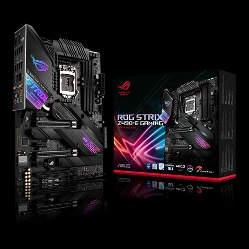 ASUS ROG STRIX Z490-E GAMING Intel Z490 10th Gen LGA1200 ATX MB DDR4, 1xDP 1xHDMI 4xUSB3.2