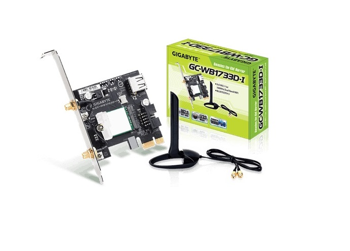 Gigabyte GC-WB1733D-I PCIE Expansion Card Wifi + Bluetooth 5