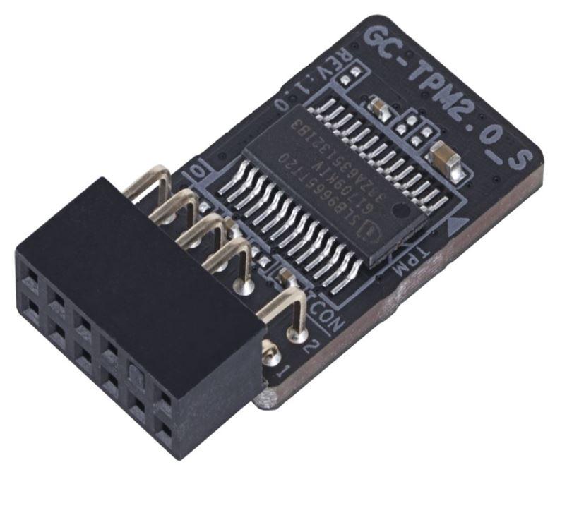 Gigabyte GC-TPM2.0_S 2.0 Trusted Platform Module for Z390 H370 B360 H310 X299 Z370 TRX40 X399 X470 B450 X370 Motherboard Windows 7 8 10