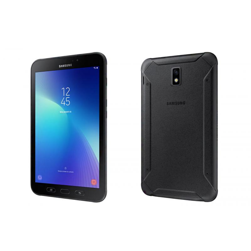 Samsung Galaxy Tab Active 2 - Black - Samsung Tablet with 8' Display, Android 7.1 (Nought) Processor, 16GB memory exp to 256GB, WiFi + 4G Model