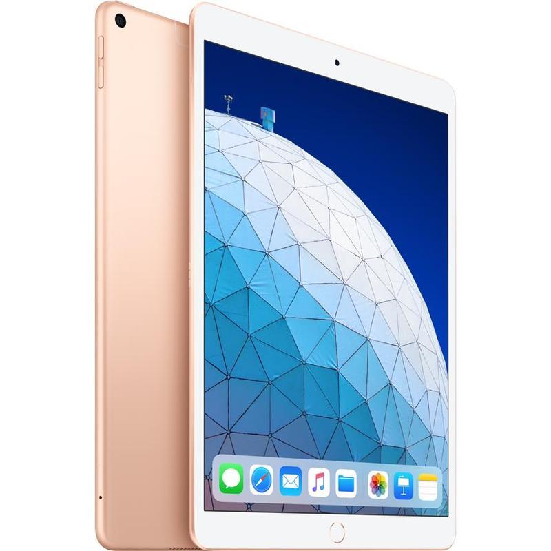 Apple iPad Air 10.5 inch Wi-Fi + Cellular 256GB - Gold (3rd Gen) -  10.5' Retina Display, iOS 12, A12 Bionoc Chip, 8MP Camera, Wi-Fi + Cellular Model